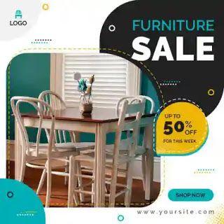 تصميمات سوشيال ميديا Psd Furniture Sale Design Furniture