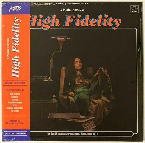 High Fidelity Soundtrack Orange Vinyl Lp Record Album Sealed Mondo Hulu Tv Ebay In 2020 Vinyl Record Album Vinyl Records Record Album