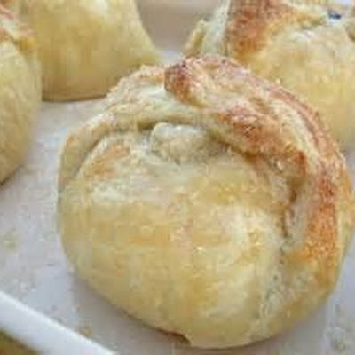 Air Fryer Apple Dumplings @keyingredient