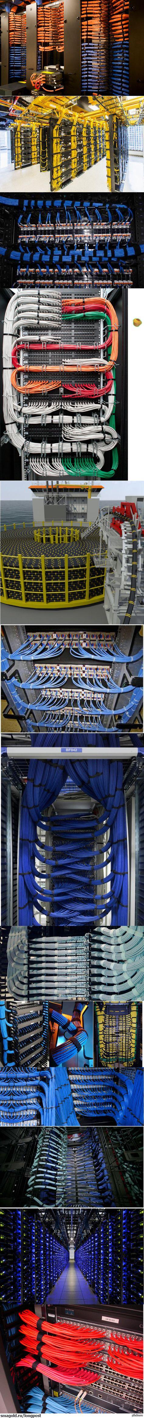 Cableporn:D - 3! cableporn, кабель, сисадмин, Провод, порядок, длиннопост