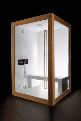 Steam Shower Glass Chromotherapy Carmenta Srl I Want It Chromotherapie Prefabrique Douche