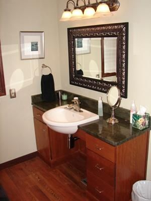 Accessible Bathroom Counters Cabinets On Pinterest Wheelchairs B