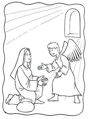 La Anunciacion Angel Gabriel Y Maria Angel Gabriel Gabriel De Jesus