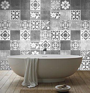 Best Stickers Salle De Bain Mosaique Pictures - House Design ...