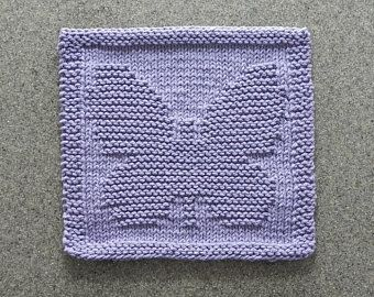 Dish Cloth 8x8 Hand Knitted