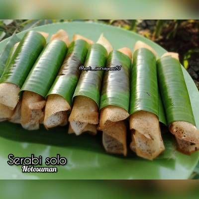Resep Serabi Solo Teflon Ala2 Notosuman Oleh Nia Jeffri Cookpad Resep Makanan Kue Dadar