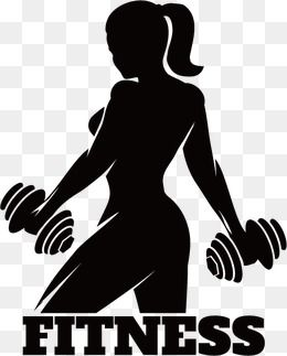 fitness vector icon vector Dumbbell Silhouette figures Fitness movement work out Icon logo Fitness icon ma Fitness icon Women fitness logo No equipment workout