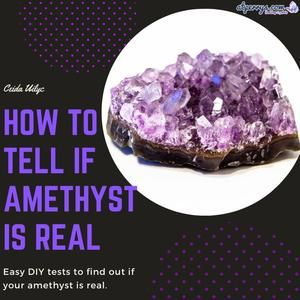 How To Tell If Amethyst Is Real In 2021 Amethyst Crystal Therapy Crystal Healing