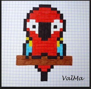 Les Créas De Valma Dessin Pixel Pixel Art Anime Et Dessin