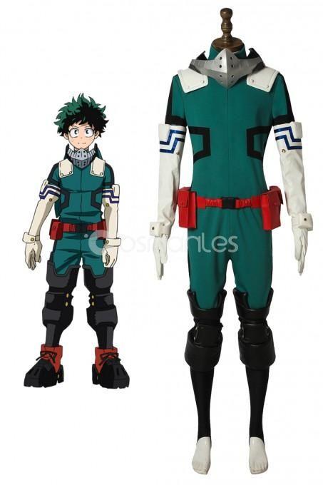 My Hero Academia Boku no Hero Akademia Izuku Midoriya Cosplay black suits