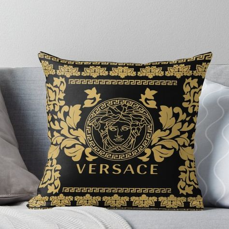Cuscini Versace.Versace Throw Pillow Cuscini Versace