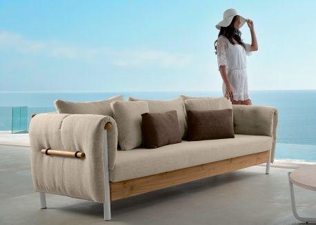 Canape De Jardin Luxe Et Design Talenti Chez Ksl Living Canape D Exterieur Design Italien Canape Jardin