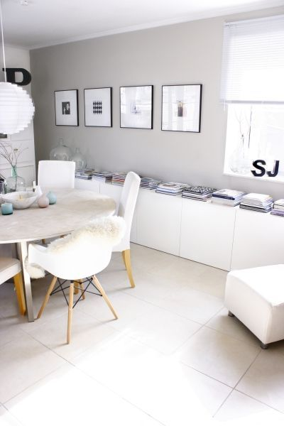 Long Clean White Storage   Ikea Besta May Work For This Look | INTEROIR |  FOR THE HOME | HOMES | Pinterest | Storage, Minimalist And Living Rooms