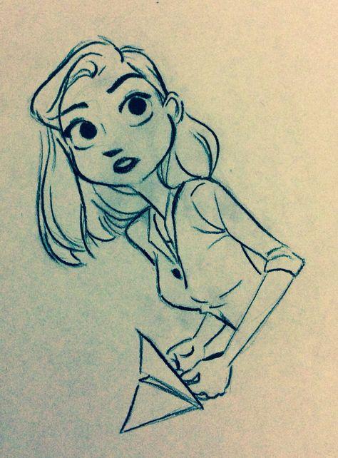 Meg from Paperman