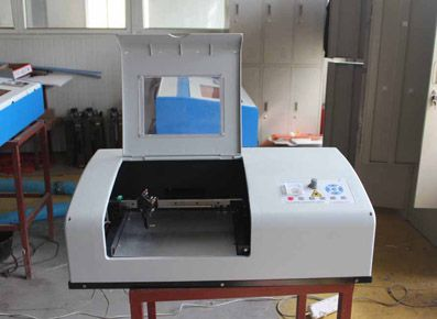 Laser Rubber Stamp Making Machine By Morntech1