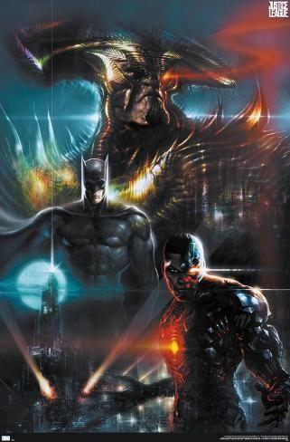 Poster Dc Zack Snyder S Justice League Liam Sharp Variant 22x15in In 2021 Justice League Justice League Comics Justice League Dark