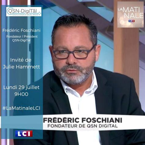 ⚡Interview 🎙️⚡/ Frederic Foschiani, Président de QSN-DigiTal, sur LCI