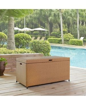 Crosley Palm Harbor Outdoor Wicker Storage Bin Reviews Furniture Macy S Outdoor Storage Bin Outdoor Storage Storage Bins