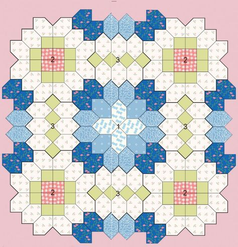 Patchwork of the Crosses - Quilts (beginners)