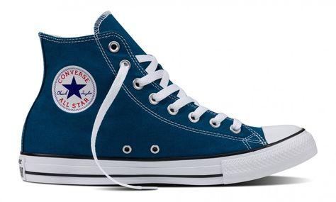 7e9b9fd3e8f6 Converse Chuck Taylor All Star Seasonal Hi Top Blue Lagoon ...