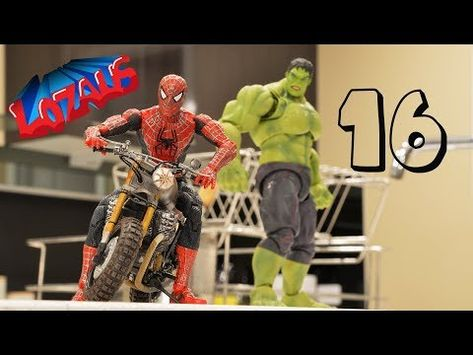 Spiderman Stop Motion Action Video Part 16 Youtube - roblox monster jam freestyle pt 2 youtube