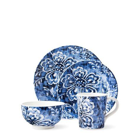 Cote D Azur Floral Mug Blue Florals Ralph Lauren Home Elegant
