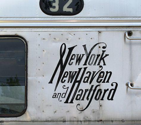 New York New Haven Hartford Its Hard To Make Interesting Fonts