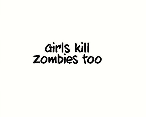 GIRL WALKING A ZOMBIE Vinyl Decal Sticker Car Window Wall Bumper Funny Dead Jdm