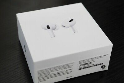 Brand New Apple Airpods Pro With Wireless Case White Mwp22ch A Apple Leather Case Airpods Pro Apple Packaging