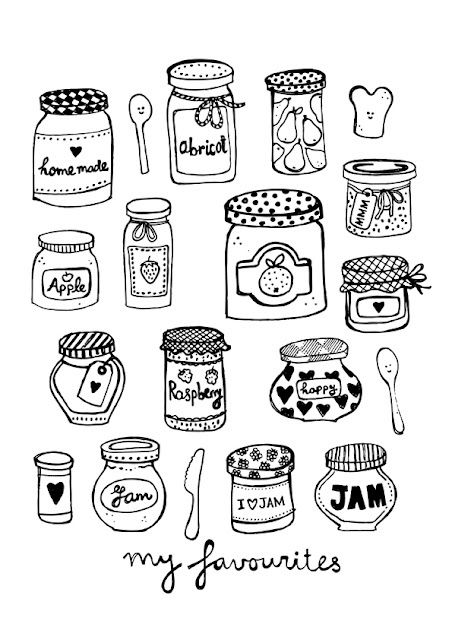Beautiful Pots Illustration Sketch Book Doodles Bullet Journal Doodles