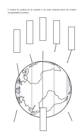 Prueba De Zonas Climaticas Climatico Ciencias Sociales Primaria
