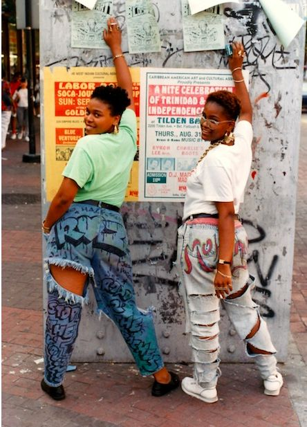 Photos: NYC Street fashion in the - Photo by Jamel Shabazz