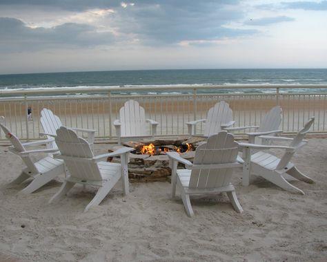 Fire Pit at the Beach.... Paradise! Daytona Beach, FL