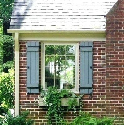 Image Result For Sage Green Shutters And Door On Red Brick Home Red Brick House Exterior Brick Shutters Exterior