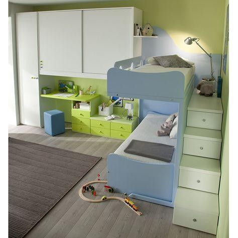 Cameretta due letti ASTERIX | Kid\'s room | Pinterest