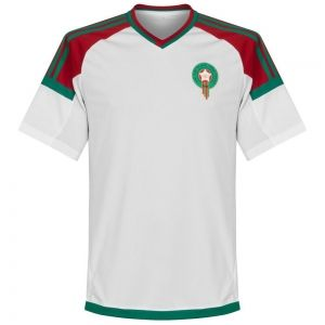 2018 World Cup Jersey Morocco Away Replica White Shirt Bfc777 In 2020 World Cup Jerseys Jersey Shirt Soccer Jersey