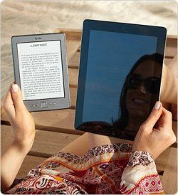 To test out the revolutionary anti-glare technology of your electronic books on your electronic boat.