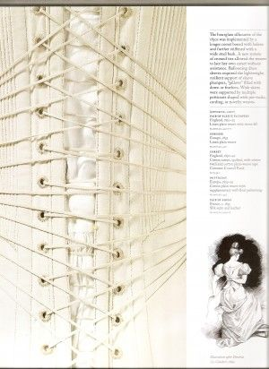 Corset Liners (and Substitutes)   Corsets   Pinterest   Uhren ...