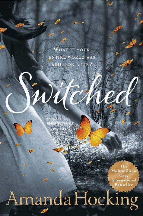 Switched, Trylle Trilogy : Book 1 by Amanda Hocking. - Interesting story beyond imaginations Ya Books, I Love Books, Good Books, Books To Read, The Book, Book 1, Paranormal Romance Books, Bon Film, I Love Reading