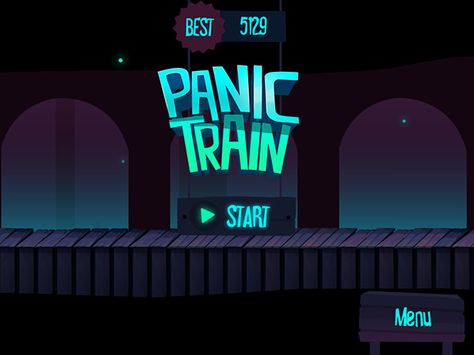 Panic Train - Available on IOS and Android on App Design Served