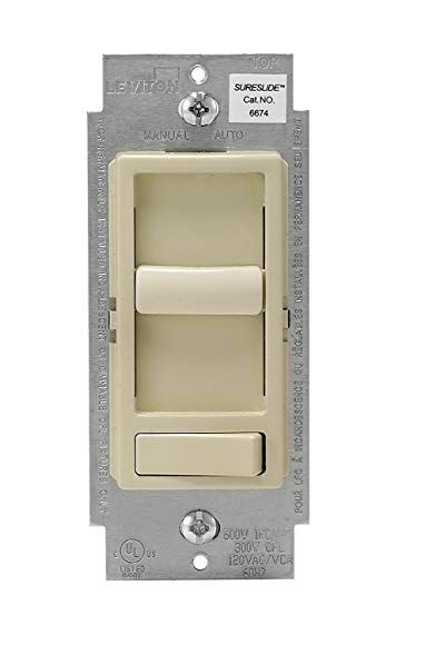 Leviton 6674 P0i 6 Pack Decora Sureslide Slide Cfl Led Dimmer Ivory Review Led Dimmer Leviton Dimmer Switch