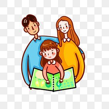 Reading Reading Family Warm การอ าน ครอบคร ว อบอ นภาพ Png และ Psd สำหร บดาวน โหลดฟร การ ต นน าร ก การ ต น การอ าน