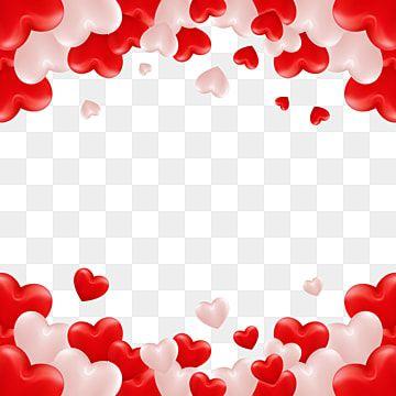 Vector De Marco De Corazon Especial De San Valentin Rojo Y Blanco Enamorado Contento Romantico Png Y Vector Para Descargar Gratis Pngtree Valentines Art Heart Frame Red Roses Background