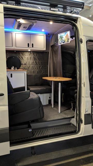 Rb Gear Hauler Van Ew 144 4x4 4x4 Sprinter Camper Conversion Roof Vent Covers