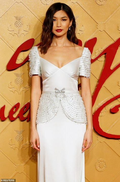 Gemma Chan, 36, is up for best acting ensemble with her Crazy Rich Asians co-stars,who ma...