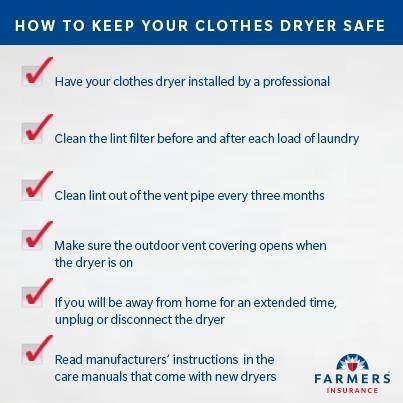 Clothes Dryer Fire Prevention Tips Poughkeepsie Hopewell