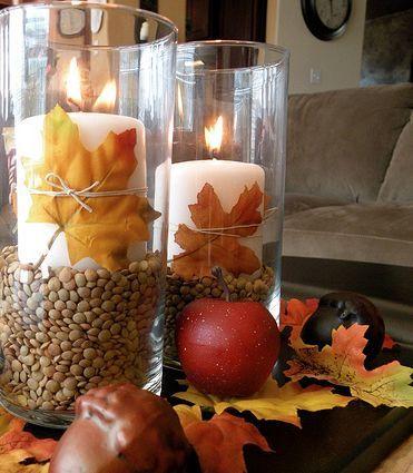 Bougie d'automne