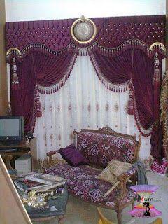 احدث كتالوج صور ستائر صالونات بتصميمات مودرن وكلاسيك 2020 Modern Curtains Curtains Home Decor