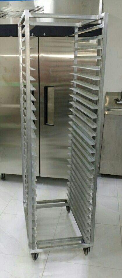 Carrito Porta Bandejas Panadería Repostería Pizzeria 1 809 637 9190 Diseño De Panadería Panadería Panaderías