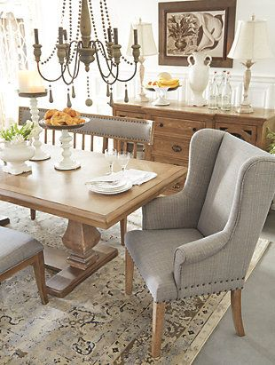Ollesburg Dining Room Chair Large Farmhouse Dining Room